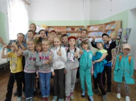 «Спортивные приключения героев книг в стране ГТО»