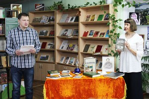 Литературная ночь прошла в «Отчем крае»