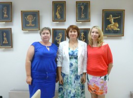 Выставка Ольги Абрамовны Карповой