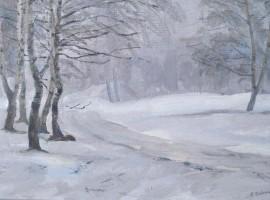 Выставка работ художника В.В.Крекина